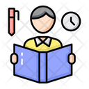 Reading Reading Time Study Time Icon