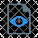 Readonly Eye View Icon