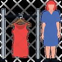 Readymade Dress Icon