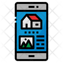 Smart Phone House Icon