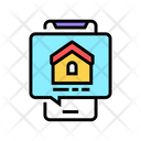 Mobile Phone House Icon