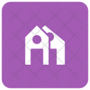 Estate House Building Icon