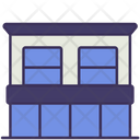 Shop House Building Contruction Icon
