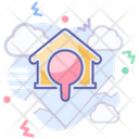 Real Estate House Building Icon