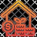 Real Estate Loan Finance Icon