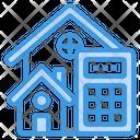 Real Estate Calculator Home Icon