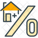 Percentage Property Loan Icon