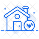 Real Estate Agreement Estate Contract Estate Deal Icon