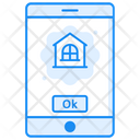 Mobile Real Estate Real Estate App Estate Marketing Icon