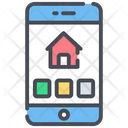 Real Estate App Online Real Estate Mobile App Icon