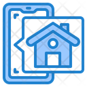 Real Estate App Home House Icon