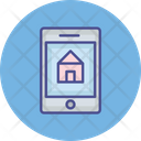 Real Estate App Online Buy Property Mobile Icon