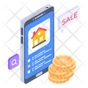 Online Home Online Property Real Estate App Icon