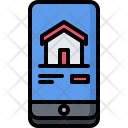 Phone Site Building Icon