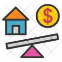 Property Money Cost Icon