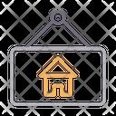 Real Estate Board Icon