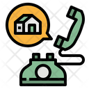Conversation House Speech Icon