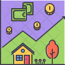 Real estate Chart Icon