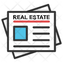 Real Estate Classified Ads Icon