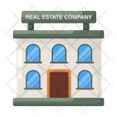 Real Estate Company Real Estate Agency Real Estate Building Icon