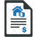Real Estate Contract Property Icon