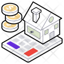 House Value Property Value Property Cost Icon
