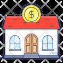 Real Estate Crowdfunding Endowing Estate Financing Icon
