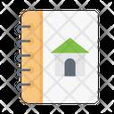House Diary Book Icon