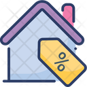 Real Estate Discount Sale Offer Icon