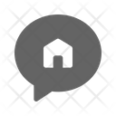 House Talk Chat Icon