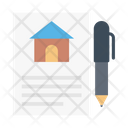 Document Home Building Icon