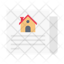 House Building Document Icon