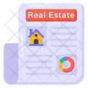 Real Estate Document Icon