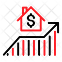 House Real Estate Investation Icon