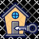 Real Estatte Property Key Icon