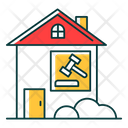 Real Estate Lawsuit Icon