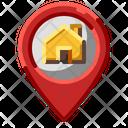 Real Estate Location Icon