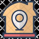 Location Pin Navigation Real Estate Icon