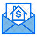 Real Estate Mail Mail Invoice Icon