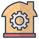 Management Gear Setting Icon