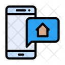 Real Estate Message Icon
