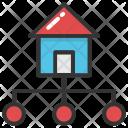 Real Estate Network Icon