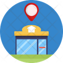Real Estate Office Location Location Pin Icon