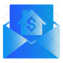 Mail Real Estate Invoice Icon
