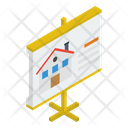 Real Estate Presentation Icon