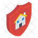 Real Estate Protection Property Protection Property Shield Icon