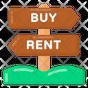 Real Estate Roadboard Icon