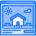 Site Building Architecture Icon