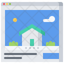 Site Building House Icon