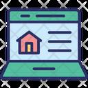 Estate Marketing Estate Website Online Mortgage Icon